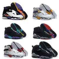 Wholesale Aqua Table - Wholesale Air retro 8 VIII men Basketball Shoes high quality Sneakers Cheap Retro VIII Aqua retro 8 Sports shoes Athletic Boots eur 41-47
