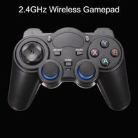 Barato Caixa Do Computador Android-Novo 2.4GHz Wireless Bluetooth Gamepad Game Controller Joystick para Android TV Box PC GPD XD Novo w / OTG Conversor de jogos de computador Controladores