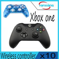 Wholesale Wholesale Xbox Consoles - 10pcs New Wireless Controller For Xbox One Controller Gamepad Joystick For Microsoft XBOX One Console yx-one-1