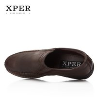 Wholesale Wholesale Mens Loafers - XPER brand Spring Autumn Mens Loafers Flats Moccasins Men Shoes Slip-on Breathable Charm Casual Round Toe #YM86837BN