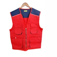 Wholesale Construction Clothing Wholesale - safety clothing Thicken with high visibility reflective vest warning traffic safety construction green reflective safety vest Pull the chain