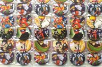 Wholesale anime clothing accessories for sale - New Cartoon set Japanese Anime Naruto Pin Badges Round Brooch Badge Kids Clothing Accessories cm A