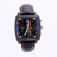 Wholesale Calibre Digital - 015 new High quality Luxury Fashion Wristwatche Wholesale men watch sports Calibre 12 RS Automatic Stainless steel Men's Watches