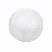 Wholesale Craft Polystyrene Foam Ball - Wholesale-DIY10pcs White Christmas Modelling Craft Polystyrene Styrofoam Foam Ball Sphere Craft Decor 10cm Decoration Crafts