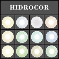 Wholesale Shipped Ring - Super Natural Hidrocor Color Contact Lens Without Limbal Ring Ready Stock Free Shipping 1 pair = 2 pieces