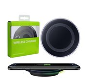 Wholesale 2017 Qi Fast Wireless Charger Charging Pad w for Samsung Galaxy S7 S7 edge S6 S6 Edge Esge Note Note CHARGE FULL BATTERY IN HRS