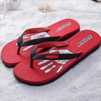 Melhor qualidade Men Shoes Slippers Masculino Summer Flip Flops Moda superstar Beach Slippers Casual Original Chinelos Para Sandálias Masculinas