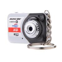Wholesale Digital Flash Memory Card - X6 Portable Ultra Mini HD High Denifition Digital Camera Mini DV Support 32GB TF Card with Mic D2299