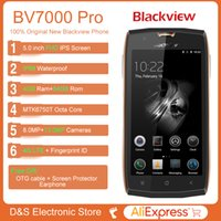 """Wholesale Mini Micro Mobile Phone Charger - Blackview BV7000 Pro Smartphone 4G Waterproof IP68 5.0""""FHD MT6750T Octa Core Android 6.0 Mobile Phone 4GB+64GB 13MP cell phone"""