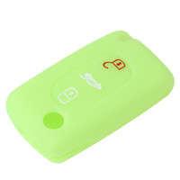 Wholesale picasso c4 - Remote 3 Buttons Key Fob Case Silicone Cover fit for CITROEN C2 C3 C4 C5 C6 Picasso AUP_40H
