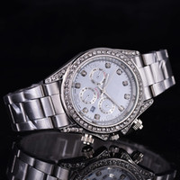 Wholesale Mens Watches Roman Numerals - Montre Geneva Watch Women Men Fashion Roman Numerals Dial Watches Women's Mens Luxury Brand Leather Quartz Wristwatch Clock Relogio Feminino