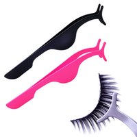 Großhandel- 2016 Heiße Pro Werkzeug Falsche Wimpern Verlängerung Applikator Entferner Clip Pinzette Nipper Mode Frauen Multifunktions Make-up-Tool