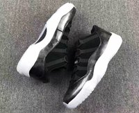 Wholesale Buckle Brand Shoes - Air Retro 11 Low Barons Professional Sneakers New Brand Running shoes for men and women size 5-13 528895-010