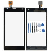 "Wholesale Lg Optimus 4x - 4.7"" Best quality Touch Screen Digitizer Outer Glass Sensor Black White For LG P880 Optimus 4X HD P880G+Tools"