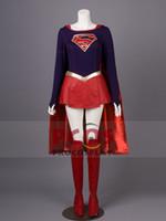 best anime costumes NZ - Best Supergirl Kara Cosplay Costume & Best Anime Costumes NZ   Buy New Best Anime Costumes Online from ...