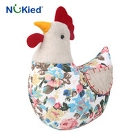 Wholesale Type Cock - NUKied New Arrival Type Cartoon Cock Doll Pillow Cloth Toys High Quality Pacifying Toys Cute Cock Dolls Baby Educational Pillow