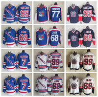 Wholesale Rangers Ccm Jersey - Throwback 68 Jaromir Jagr Jersey Men 77 Phil Esposito 99 Wayne Gretzky 7 Rod Gilbert New York Rangers Vintage Jerseys Ice Hockey CCM