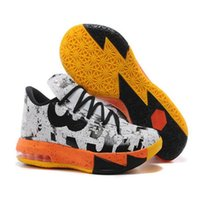 Wholesale Cheap Kd Vi - New Kevin Durant KD 6 VI MVP Mens Basketball Shoes Men Cheap Kds KD6 Sneakers For Sale With Shoes Box