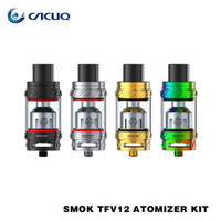Wholesale Authentic Smok TFV12 Tank ML Cloud Beast King Tank with V12 Engine V12 T12 V12 X4 V12 Q4 Coils TFV Atomizer Colors for You