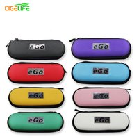 Wholesale Ego L Kit - 2016 Top Fashion Time-limited Yyx Leather Cases Bags Colorful Ego Case with Zipper Large Size for Kit Bag for Electronic Cigarette S,m,l