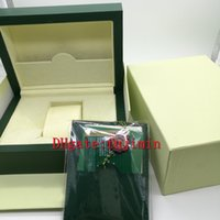 Wholesale Paper For Cards - Luxury Brand AAA Watch Original Box Papers Card Purse Gift Boxes Handbag 185mm*134mm*84mm 0.7KG For 116610 116660 116710 Watches