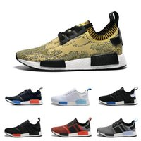 Wholesale Online Womens Sneakers - 2017 Cheap Online Wholesale NMD R1 Primeknit PK Top Quality Shoes NMD Mens Womens Athletic Running Sneaker Shoes Running Brand NMD Boost