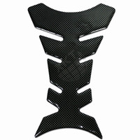 Wholesale Motorcycle Tank Carbon Fiber - 3D New Carbon Fiber Gel Gas Fuel Tank Pad Protector Sticker for All Motorcycle