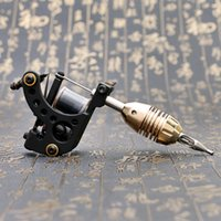 Wholesale Cast Iron Tattoo Machine Frames - High Quality Shader Machine 12 Wrap Coils Cast Iron Frame Tattoo Guns Tattoo Power Supply TM461