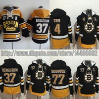 Wholesale Rays Hoodie - Men's Old Time Hockey 2017 Winter Classic Boston Bruins 4 Bobby Orr 33 Zdeno Chara 37 Patrice Bergeron 77 Ray Bourque hoodies