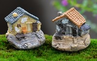 Micro Miniatur Dekoration Stein Dollhouse Haus Fairy Garten Cottage Landschaft DIY Design