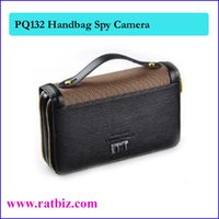 Wholesale Dvr Handbag - 8GB Handbag Camera, man Bag spy Camera, mini Hidden Camera Vedio Recorder Camcorder Mini DV DVR PQ132