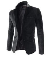 trajes de negocios de calidad para los hombres al por mayor-Al por mayor-Libre de la alta calidad 2016 Nueva marca Blazer Hombres Trajes Para Hombres Moda Moda Abrigos Blazers Hombres Traje Chaquetas M-XXL