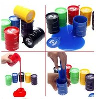 Wholesale Large Gags - Wholesale-Free shipping New Barrel O Slime Large Joke Gag Prank Gift Toy Crazy Trick Party Supply 1pc Random color GYH
