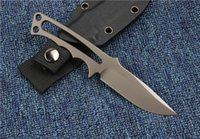 Wholesale cpm s35vn tactical knife resale online - Hunting Chris Reeve Fixed Knife CPM S35VN HRC Blade Handle Knives Hiking Camping Combat Tactical Survival Knife With K Sheath F927E