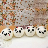 Wholesale Bread Prices - 2017 new 10pcs lot hot sell,Jumbo Squishy Buns Bread Charms, Panda Shape Squishies Cell Phone Straps, Wholesale Price