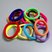 Wholesale Hair Band Silicone - Hot Sale Women's Headwear Wholesale,Factory Price,High Quality Towels Rubber Band,Fashion Elastic Hair Bands ,Can Pick The Color