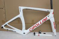 Wholesale Xs Frameset - Cipollini nk1k frameset! 2017 Red T1100 1K Carbon Frame,fork,headset,seatpost Size:XXS,XS,S,M,L,Cipollini RB1000 road bike frame BB30 BB68