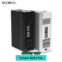Wholesale instant power - Original Voopoo Alpha One 222W TC Mod Powered By US Gene Fun Chip Instant Firing Ecig Vape Box Mods