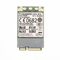 Wholesale laptop mini pcie - Wholesale- Hot sales HUAWEI MU609 WCDMA Mini PCIe 3G Module HSPA+ UMTS quad-band 850 900 1900 2100 MHz M2 Wireless 3G WWAN card