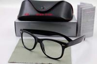 eyewear scharniert groihandel-Qualitäts-Art- und Weisemarken-Sonnenbrille-Metallscharnier Männer Frauen Reisender-Schwarz-Rahmen Weinlese-Sonnenbrille-Brillen mit ursprünglichem Kastenkasten QWDFG