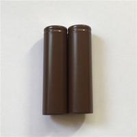 Wholesale Ecigs Batteries - 100% High Quality 18650 Battery HG2 3000mAh 30A Rechargable Lithium Batteries for LG Cells Fit Ecigs Vaporizer Vape box mod