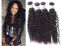 Wholesale lummy for sale - Group buy LUMMY Brazilian Deep Curly Hair Unprocessed Peruvian Malaysian Indian Deep Curly Human Hair Weave Bundles Extensions