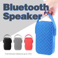 aibimy lautsprecher großhandel-Bluetooth Subwoofer Lautsprecher Wireless Bluetooth Mini Lautsprecher AIBIMY MY220BT Tief Subwoofer Stereo Portable Lautsprecher kostenlos