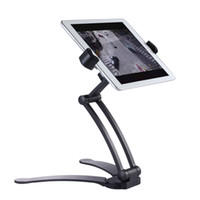 Wholesale Top Inch Tablets - Kitchen Tablet Mount Stand 2-in-1 Kitchen Wall Counter Top Mount Cradle for 7-10 inch Tablets for ipad Pro for Microsoft Surface 3