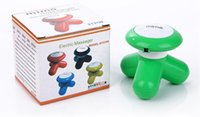 Wholesale Triangle Mini Massager - Mini USB Massager Mini tripod with a small electric shock charging cable Triangle Massage the head and neck