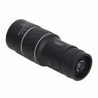 Wholesale Angled Spotting Scope - 16X52 HD Spotting scope Telescope Monocular Telescope Caliber For Sport Camping wide angle low light night vision Best Price MOQ;10pcs
