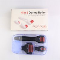 Wholesale Repair Stretch Marks - Four-in-one Roller Microneedle set Derma roller 1200pin 720pin 300pin Skin repair freckle to remove stretch marks