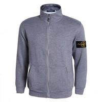Wholesale Cotton Spring Cardigan - Hot Sell 2017 spring new arrival mens island cardigan hoodies sweatshirt casual cotton sportswear mens stone jacket hoody plus S-3XL