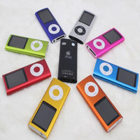 Wholesale Mp4 Player 4th Gen - News 16GB FM Video 4TH Gen MP3 MP4 Player Music Player 1.8' reproductor mp4 6 Colors
