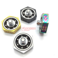 Wholesale Heated Suit - Vape Spinner Ecig Fidget Spinner 4 colors Heat Sink Adaptor 510 Adapter suit for RDA RBA RDTA atomizer tanks Box mod Mech mods